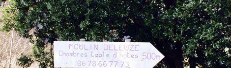 Moulin Deleuze Sentier des Lauzes Ardèche