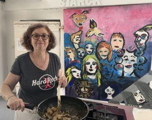 Chef de cuisine Christine