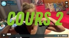 Académie de Massage de l'Xpérience - video cours 2
