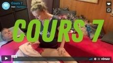 Académie de Massage de l'Xpérience – vidéo cours 7
